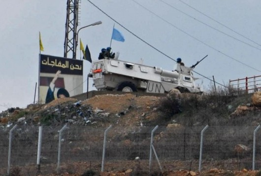 патруль неподалеку от израильско-ливанской границы Фото: Хамад Almakt/Flash90