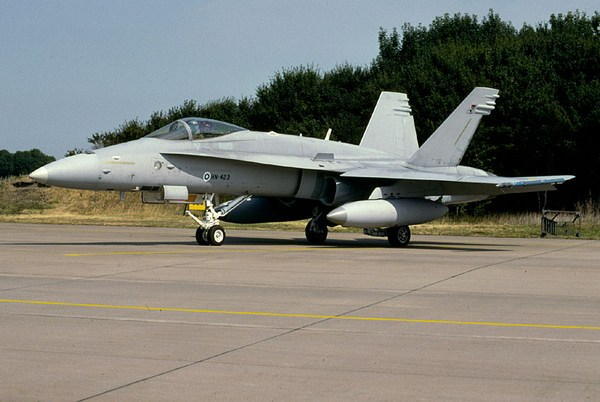 F-18 ВВС Финляндии