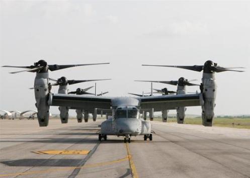 MV-22B Ospreys (c) Capt. Lauren Schultz/Marine Corps
