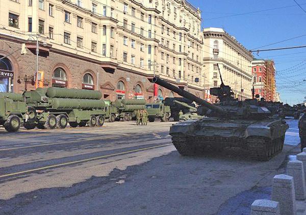 репетиции Парада Победы