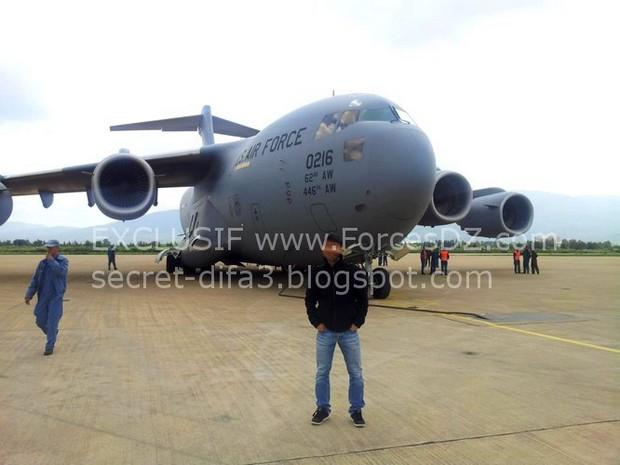 C-17 в Алжире