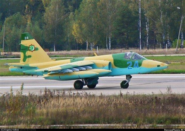 Туркменские Су-25 Скорпион