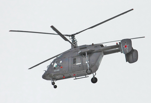 Ка-226 в Нарьян-Маре (c) aviaforum.ru