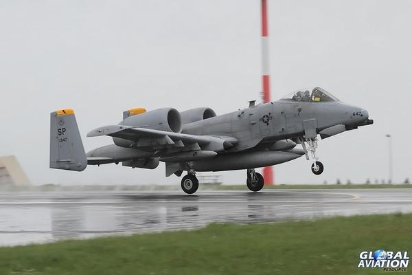 A-10 покидает Европу