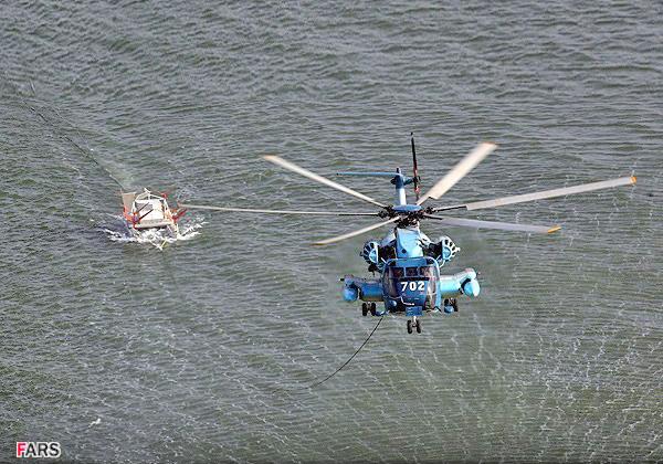 Вертолётный электромагнитный трал (c) FARS