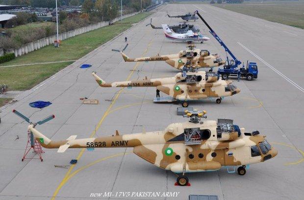 Ми-17 для ВВС Пакистана