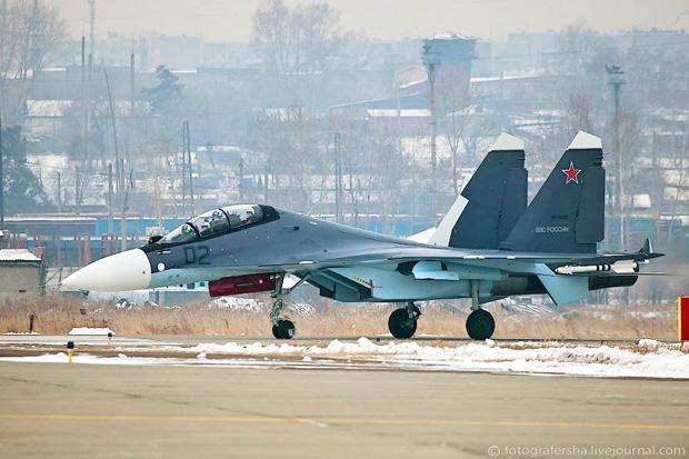 Су-30СМ ВВС РФ Фотографии Марины Лысцевой
