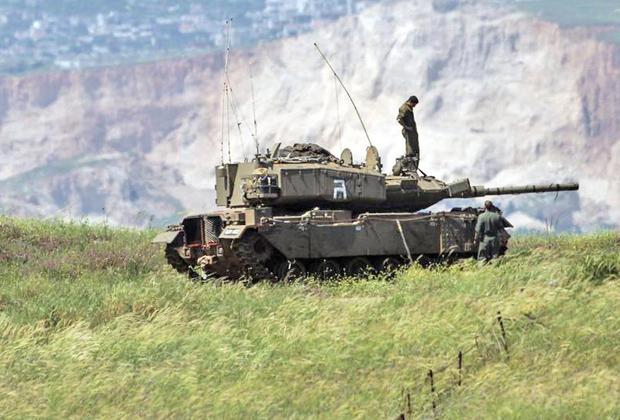 Ранее не известная вресия танка Magach