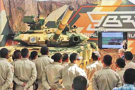 Т-90С на выставке SITDEF 2013 (c) Пресс-служба УВЗ