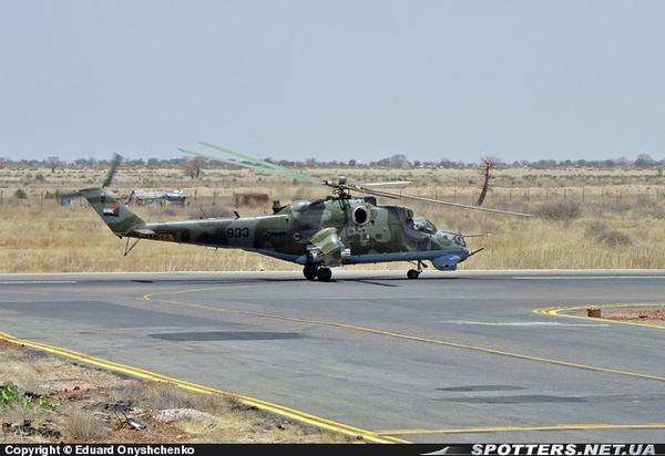 Ми-24П ВВС Судана (c) Eduard Onyshchenko
