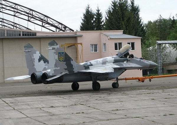 Миг-29 ВС Украины