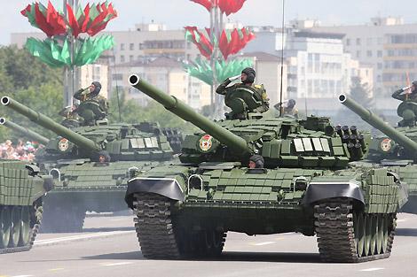 Танк Т-72 ВС Беларуси