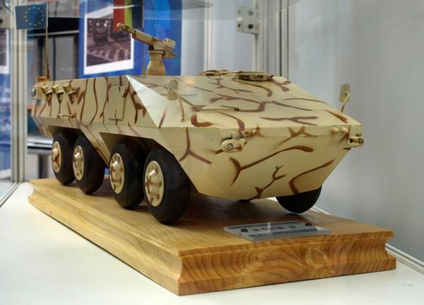 Румынский перспективный БТР Saur-3