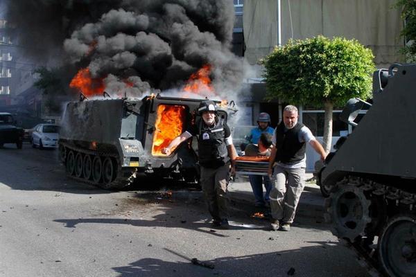 Столкновения в Ливане