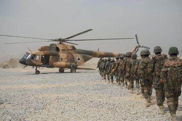 Ми-17 Национальных ВВС Афганистана