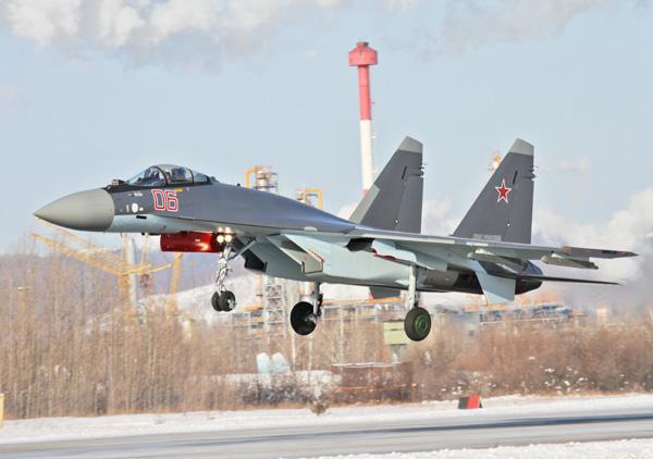 Су-35 ВВС РФ