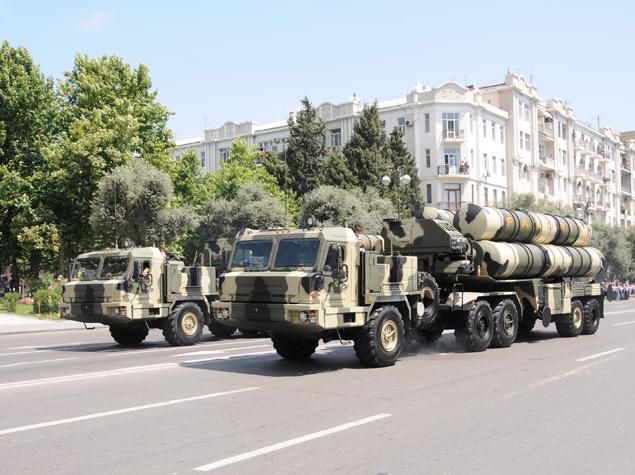 Система С-300 ВС Азербайджана