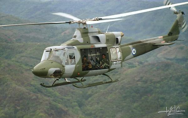 Bell 412 ВВС Аргентины