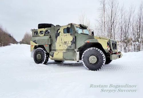 Бронеавтомобиль СПМ-3