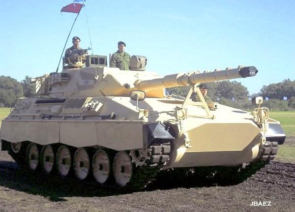 легкий танк TAM 2C