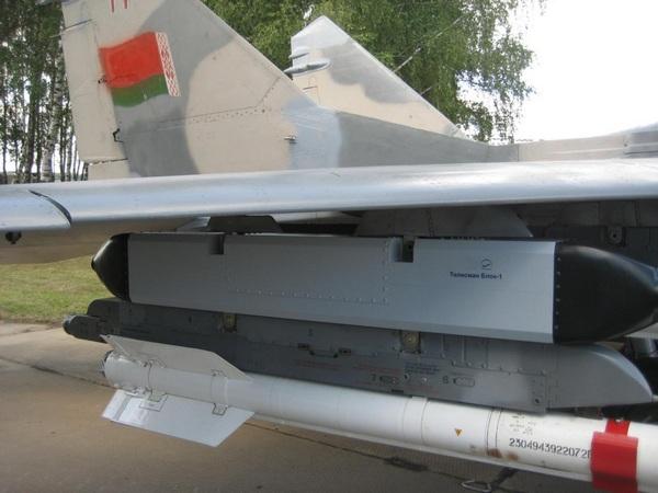 Самолет МиГ-29 оснащенный БКО «Талисман»