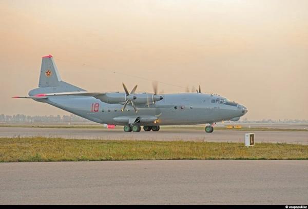 Ан-12 ВВС Казахстана