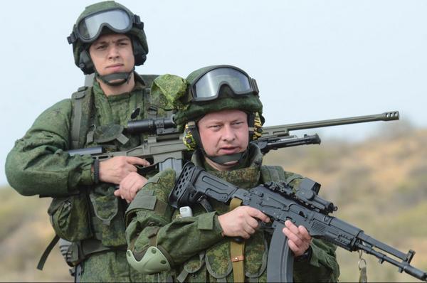 Опытные образцы  экипировки солдат Ратник (с) министерство обороны России