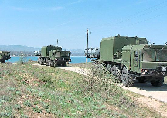 Ракетчики комплекса «Бал»