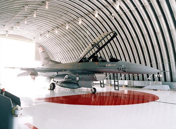 Истребитель F-16 ВВС Египта