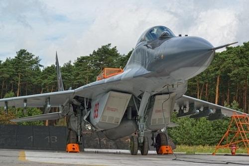 МиГ-29 (9-12Б) ВВС Польши (c) www.altair.com.pl