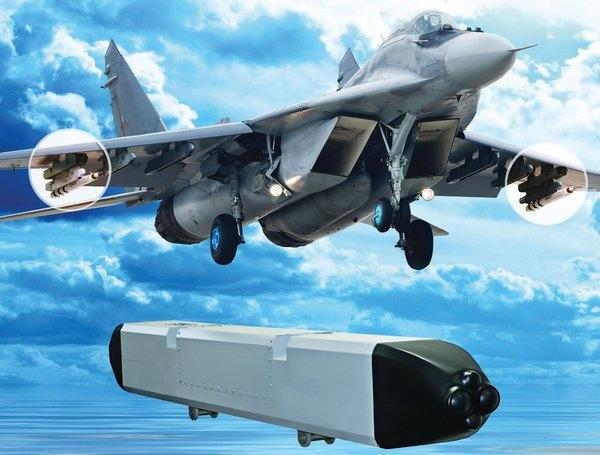 Вариант подвески БКО Талисман на МиГ-29