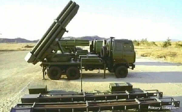 РСЗО M-1991 калибра 240 мм