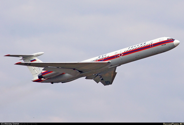 Самолет Ил-62 МЧС РФ