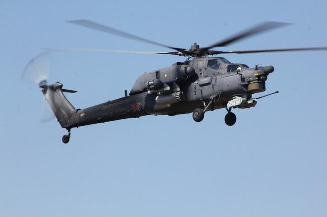 Вертолет Ми-28 ВВС РФ