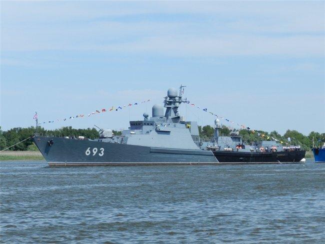 ракетный сторожевой корабль Дагестан
