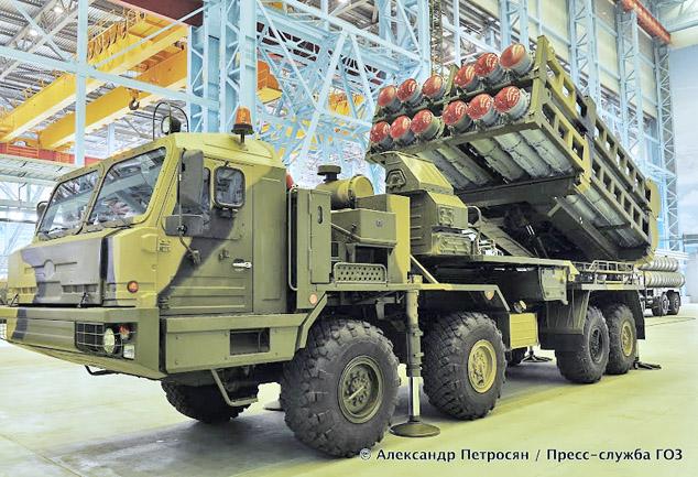 Система ПВО С-350Е Витязь