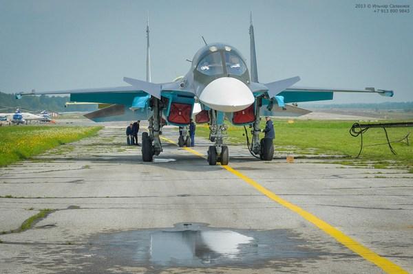 Су-34 (c) Ильнар Салахиев  www.mycity-military.com