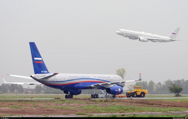 Ту-214ОН (c) Евгений Поливанов / russianplanes.net