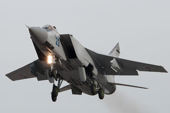 МиГ-31 Фото с сайта function.mil.ru