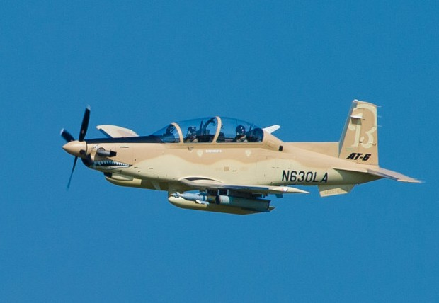 первый серийный Beechcraft AT-6