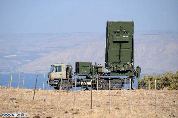 РЛС в в районе  города Тверия на севере Израиля
