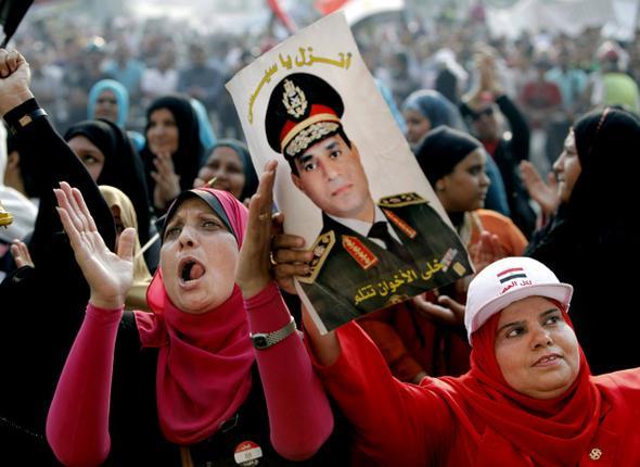 Протесты на площади Тахрир (c) AP