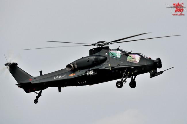 Китайский серийный боевой вертолет WZ-10