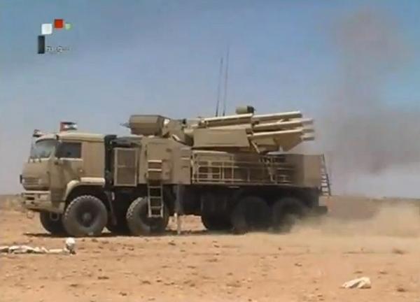 Панцирь-С1 ВС Сирии