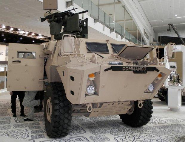 Commando Elite. Фото В. Чобиток, IDEX 2013