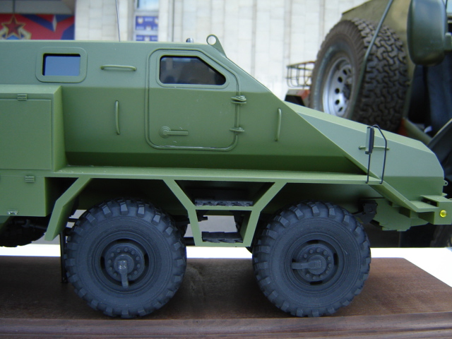 Перспективный бронеавтомобиль КамАЗ