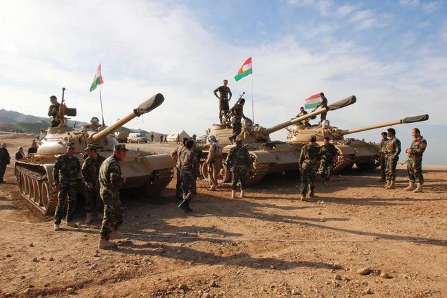 Танковый отряд Пешмерга