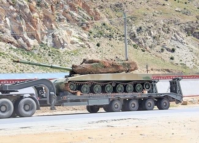 Легкий горный танк ВС Китая