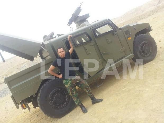 Бронеавтомобиль Sherpa ВС Туниса