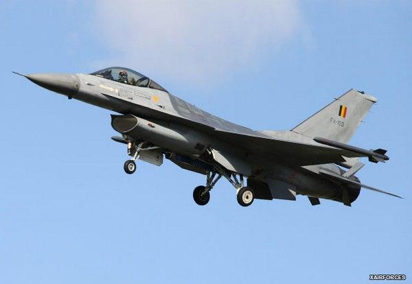 F-16 королевских ВВС Бельгии (c) www.xairforces.net